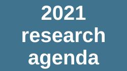 Link to 2021 research agenda