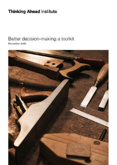 Better decision-making: a toolkit