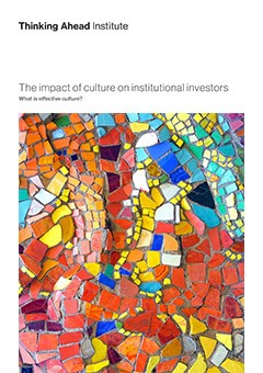 Culture in investment organisations research paper