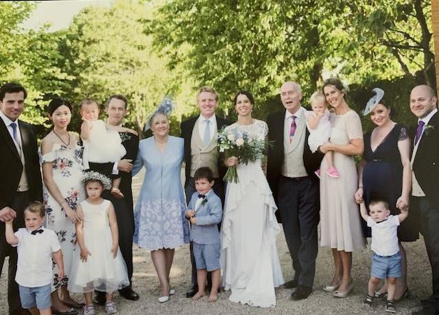 Roger Urwin family wedding