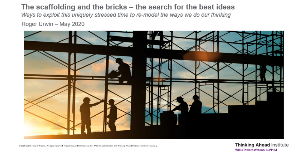 Scaffolding and bricks deck cover image