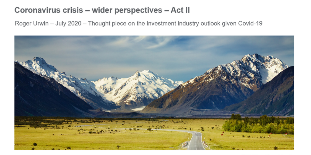 Wider Perspectives Act II - research cover