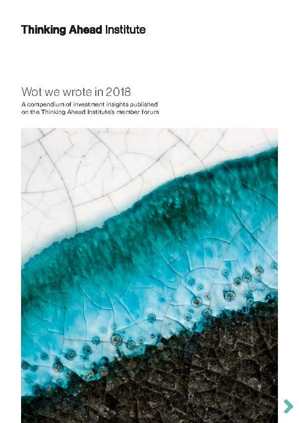 Wot we wrote 2018