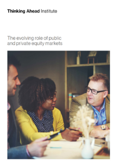 Private equity front cover image